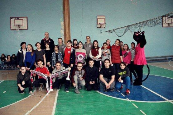 Участники баскетбольного урока
