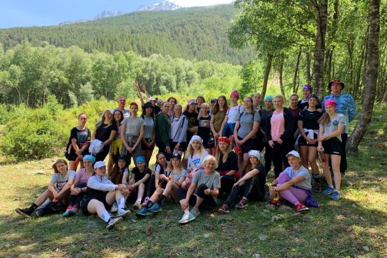 Молодые гандболистки «Ростов-Дона» на предсезонном сборе в Кабардино-Балкарии