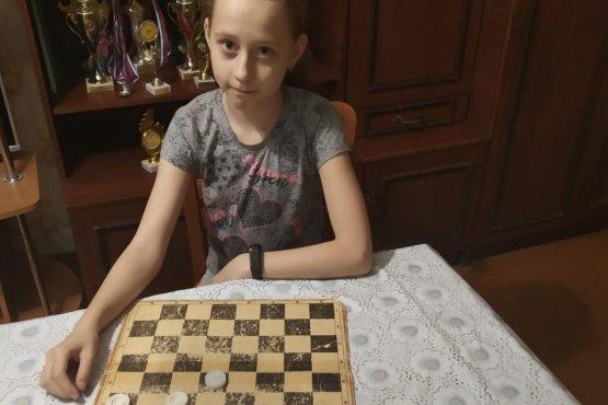 Одна из победителей конкурса решений Диана Бондаренко