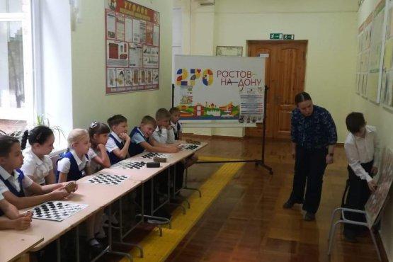 Анна Потатуева проводит мастер-класс