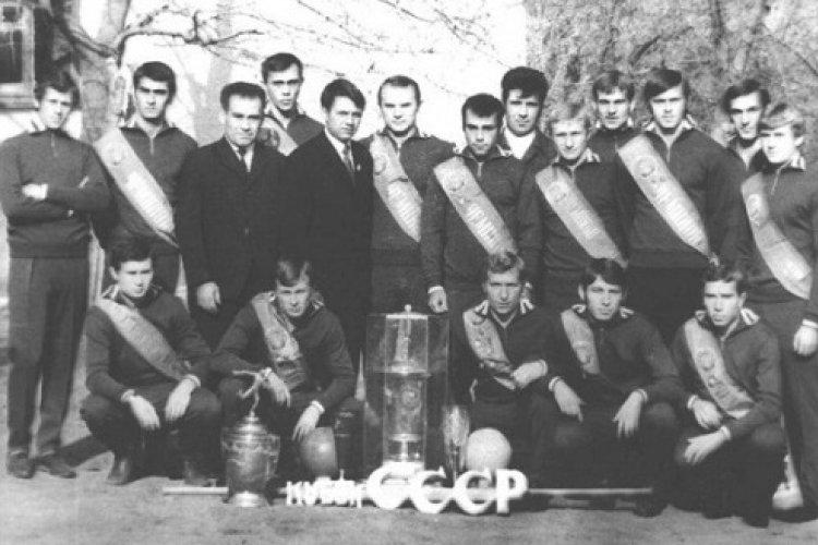 Команда «Калитва» - обладатель Кубка СССР 1971 года среди производственных коллективов