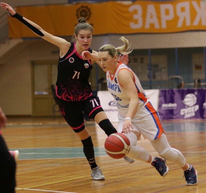 Ростовским баскетболисткам удалось сломить сопротивление соперниц из «Самары»