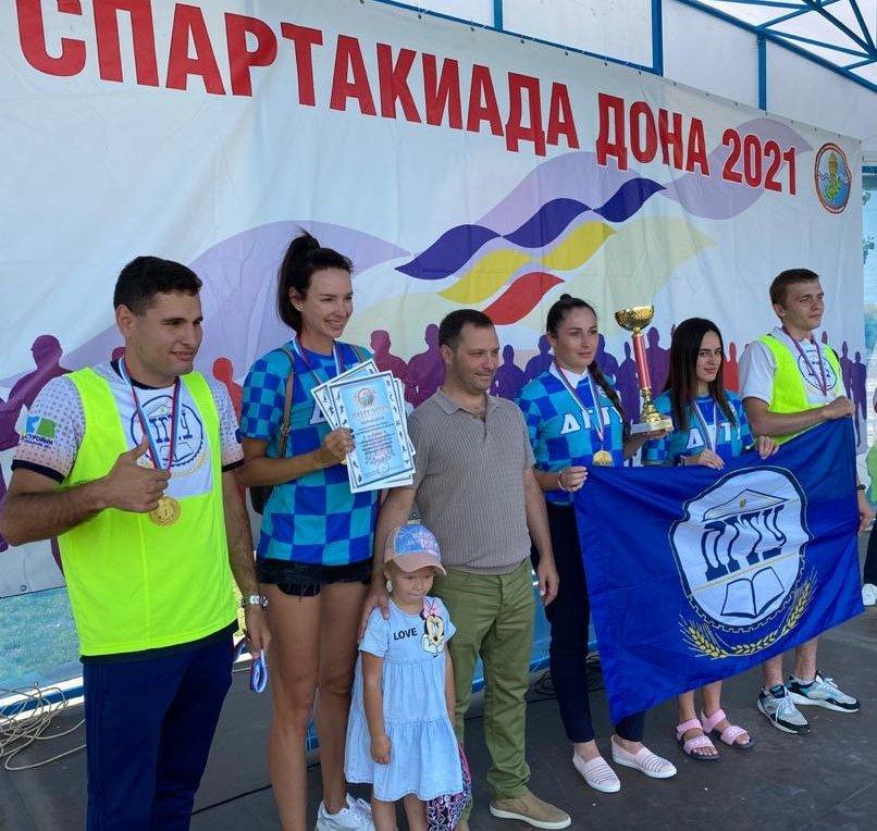 Победители соревнований из сборной ДГТУ