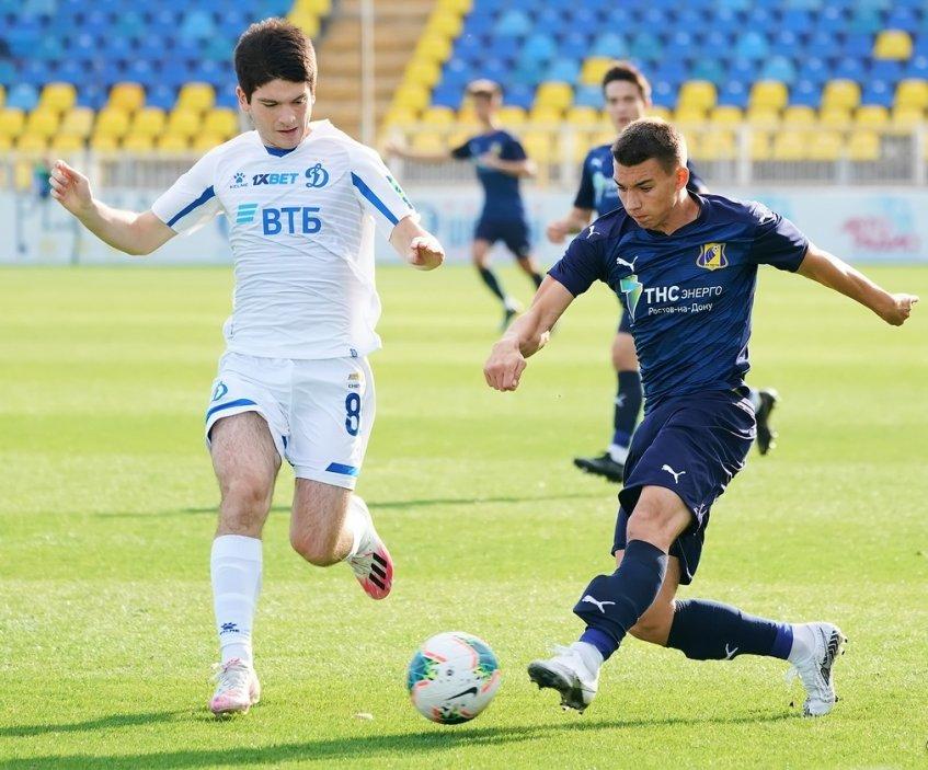 «Молодежки» «Ростова» и «Динамо» не выявили победителя
