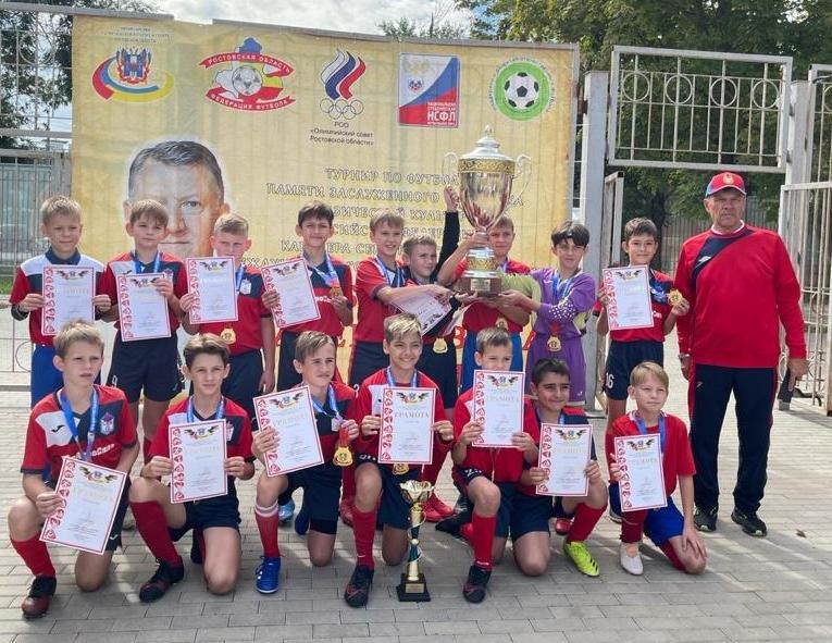 Команда СКА - победитель турнира