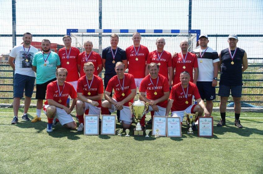 Команда «ГК Центр» второй год подряд стала победителем первенства
