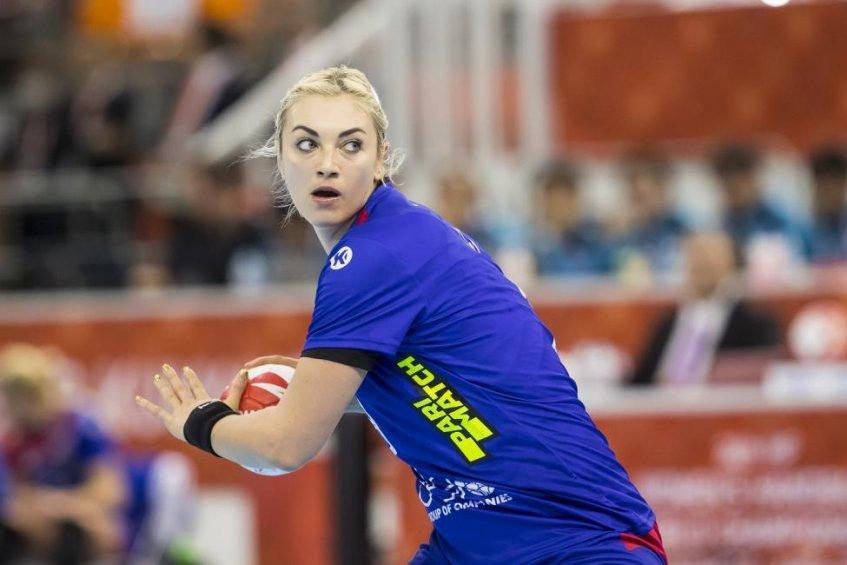 Капитан сборной России Анна Сень