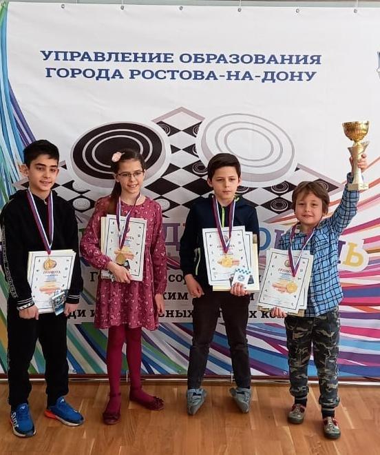 Победители городского турнира
