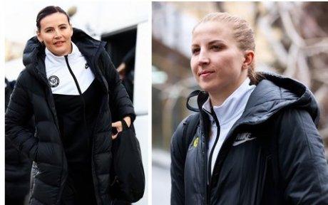 Майя Петрова и Регина Калиниченко