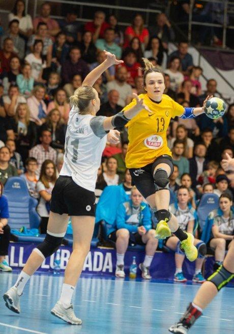 Анна Вяхирева в победном матче против «Лады»