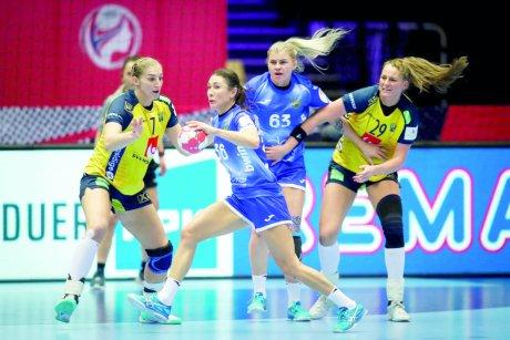 В матче со сборной Швеции россиянки временами показывали гандбол высочайшего класса