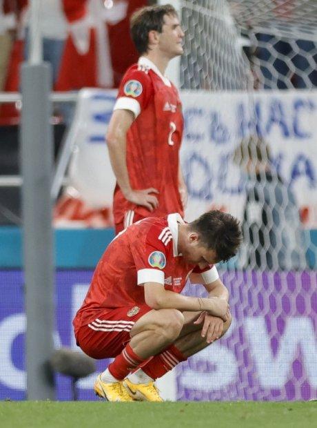 На Euro-2020 сборная России не оправдала надежд своих болельщиков