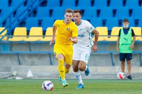 Максим Турищев - автор двух мячей в ворота «Зенита»