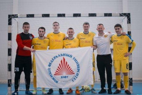 Сборная ЮФУ - победитель турнира в Краснодаре