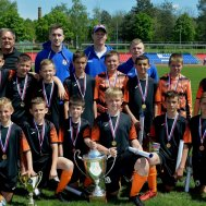 Команда батайской ДЮСШ-2 – победитель турнира памяти Виктора Киктева