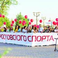Парад федераций прошел под девизом «Сила ростовского спорта»