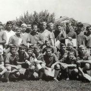 1968 год. Грозный. Сборная Ростовской области - победитель первенства Северного Кавказа. Евгений Грунин - шестой справа в верхнем ряду