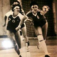 Наталья Морскова (справа) в составе сборной СССР