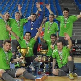 Команда «СтройковЪ» – обладатель Кубка чемпионов Ассоциации мини-футбола