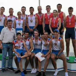 Молодые донские гребцы завоевали 13 медалей первенства России
