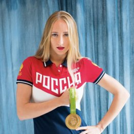 Олимпийская чемпионка Влада Чигирева