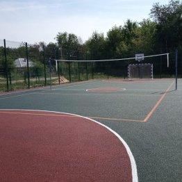 Многофункциональная спортивная площадка в хуторе Можаевка Тарасовского района появилась благодаря проекту «Сделаем вместе!»