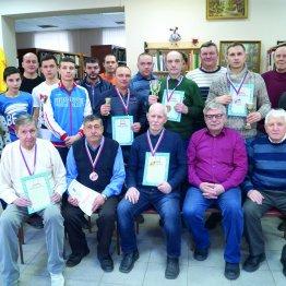 Участники Рождественского турнира