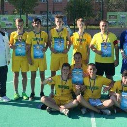 Команда «Текучева» школы № 70 - победитель турнира в возрастной категории 2003-2004 г.р.