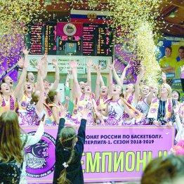 «Ростов-Дон-ЮФУ» – снова чемпион российской суперлиги!