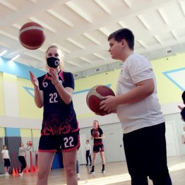 Мастер-класс в ростовском лицее № 50