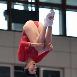 Прыжок Анны Корнетской